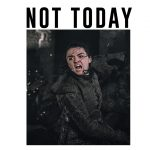 Imagem camiseta Game of Thrones - NOT TODAY
