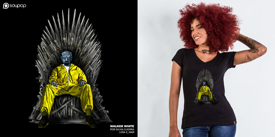 Imagem camiseta Game of Thrones - Walker White