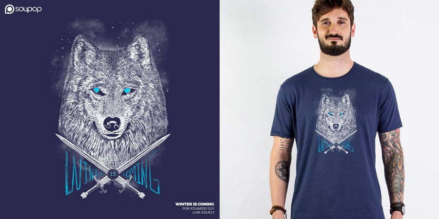 Imagem camiseta Game of Thrones - Winter is Coming